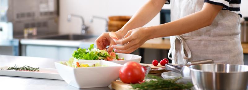 協力管理栄養士、料理家イメージ