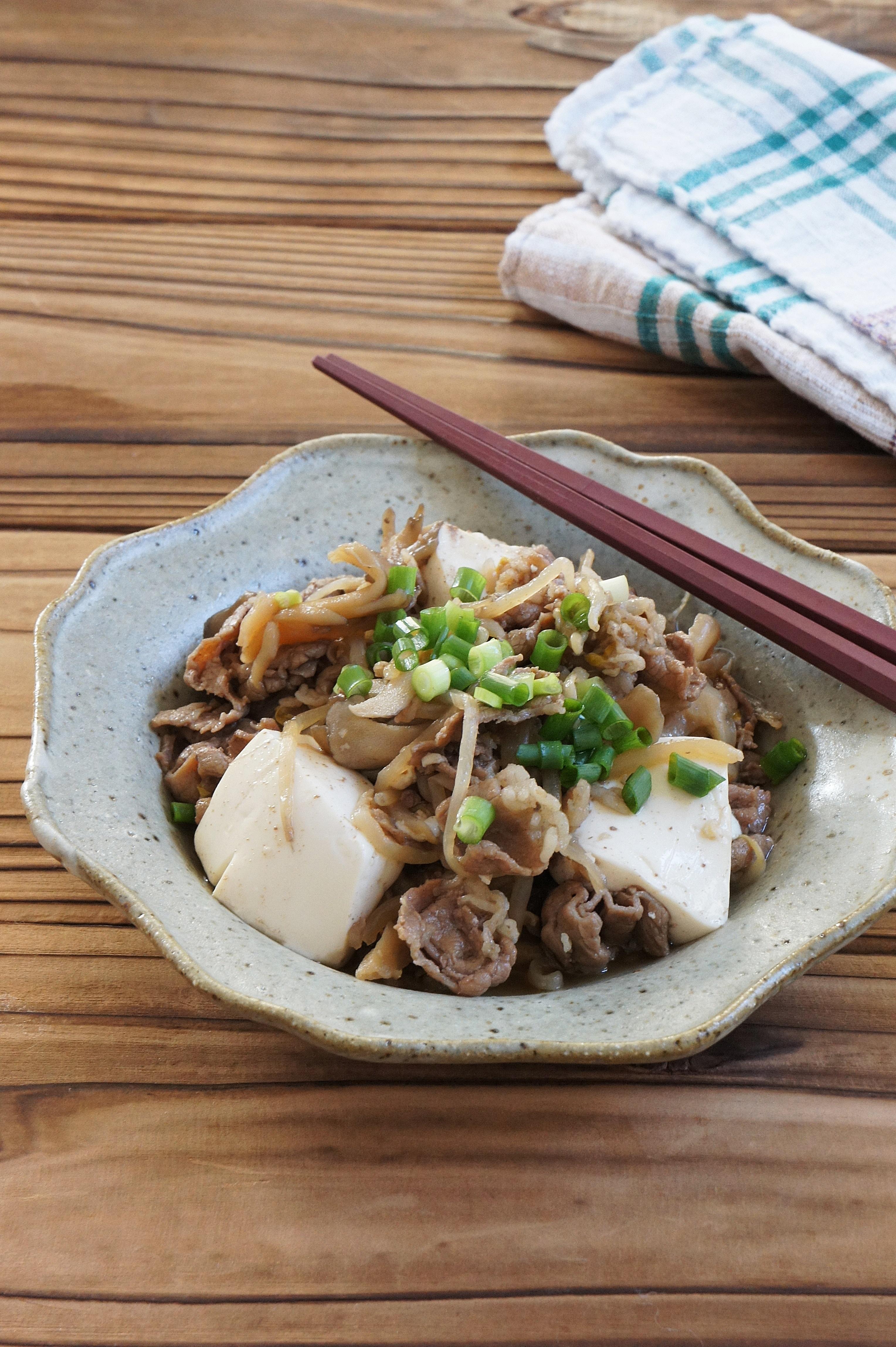 【連載;読売新聞ヨミドクター】さっぱり肉豆腐