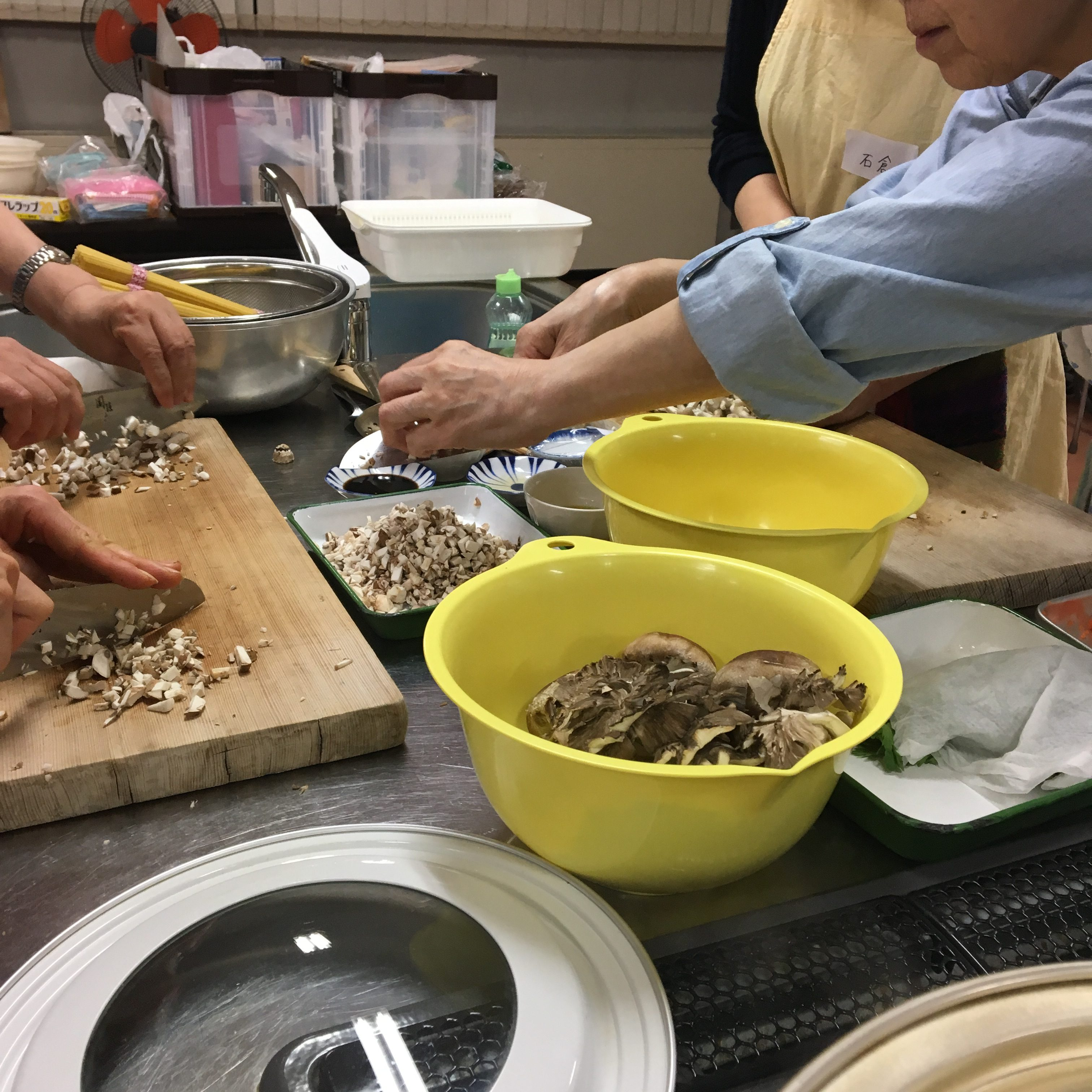 【料理教室講師】千代田区健康推進事業「ワンプレートよるおそごはん」きのこできれい