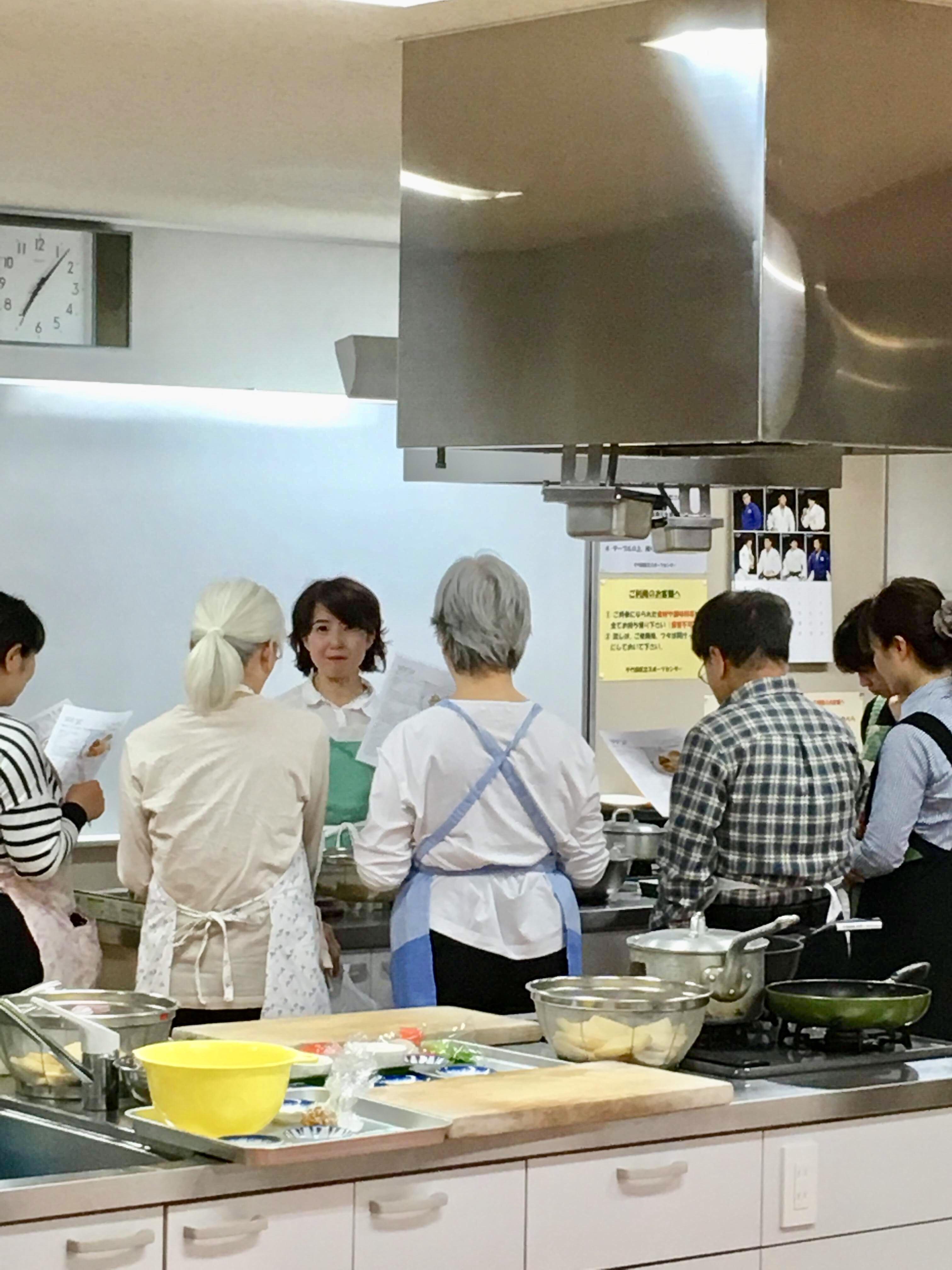【料理講師】千代田区健康増進事業「ワンプレートの夜遅ごはん」4月;彩りいなり