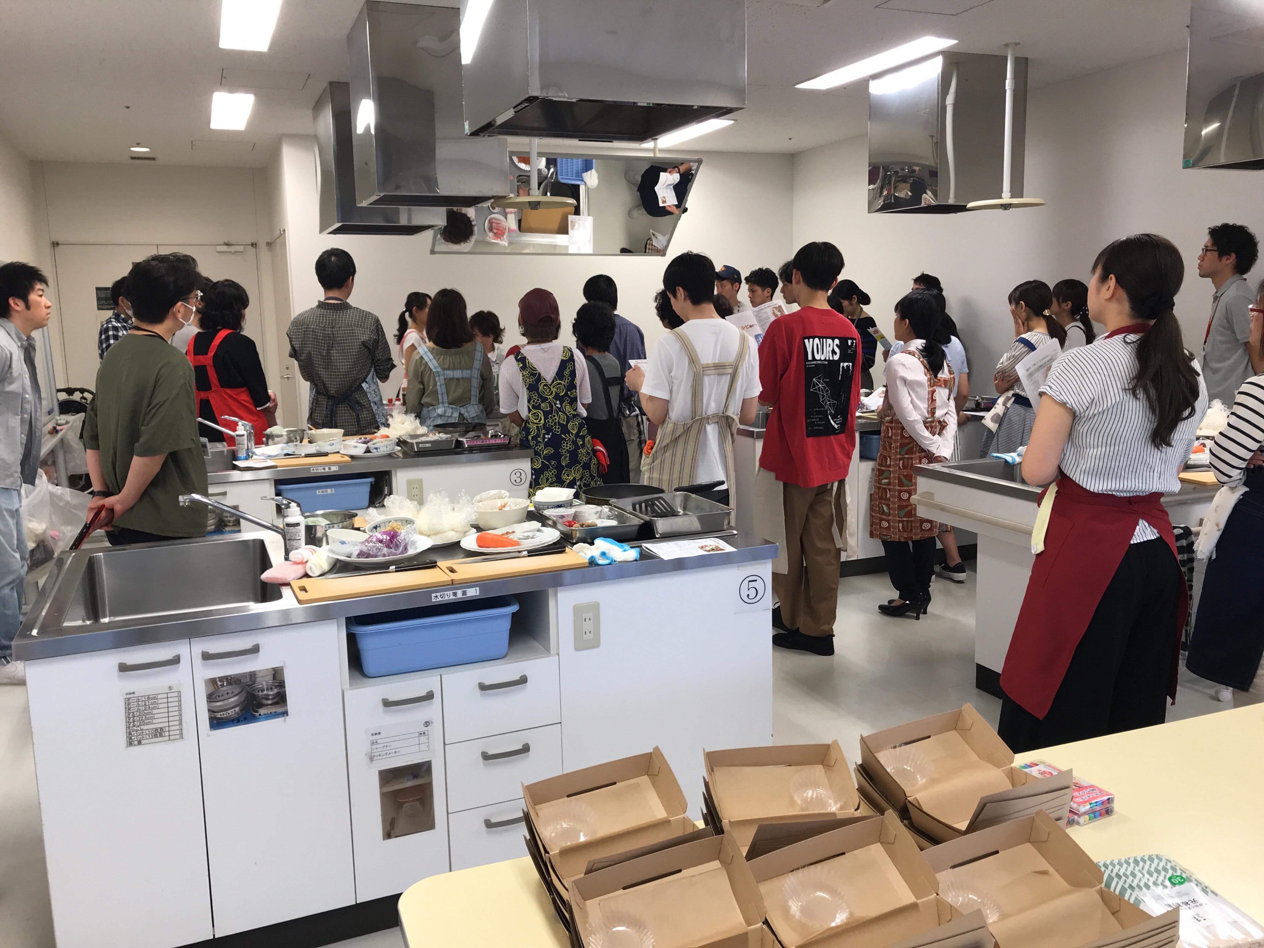 【料理教室講師】健康増進事業;働く社員様向け料理教室:つくりおき&お弁当編