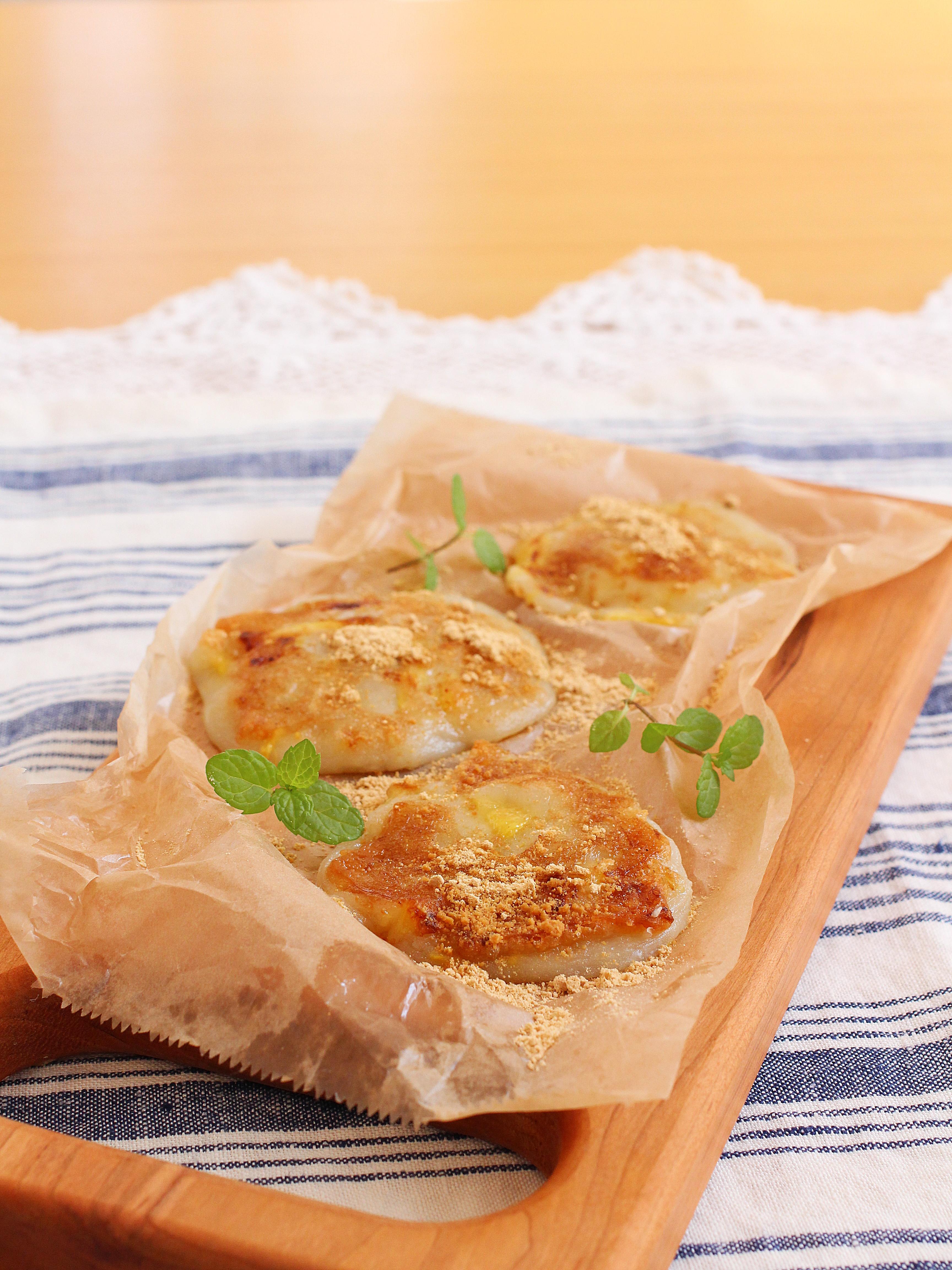 【レシピ掲載:白玉レシピ】白玉とパイナップルのココナッツミルク焼き:玉三川光物産