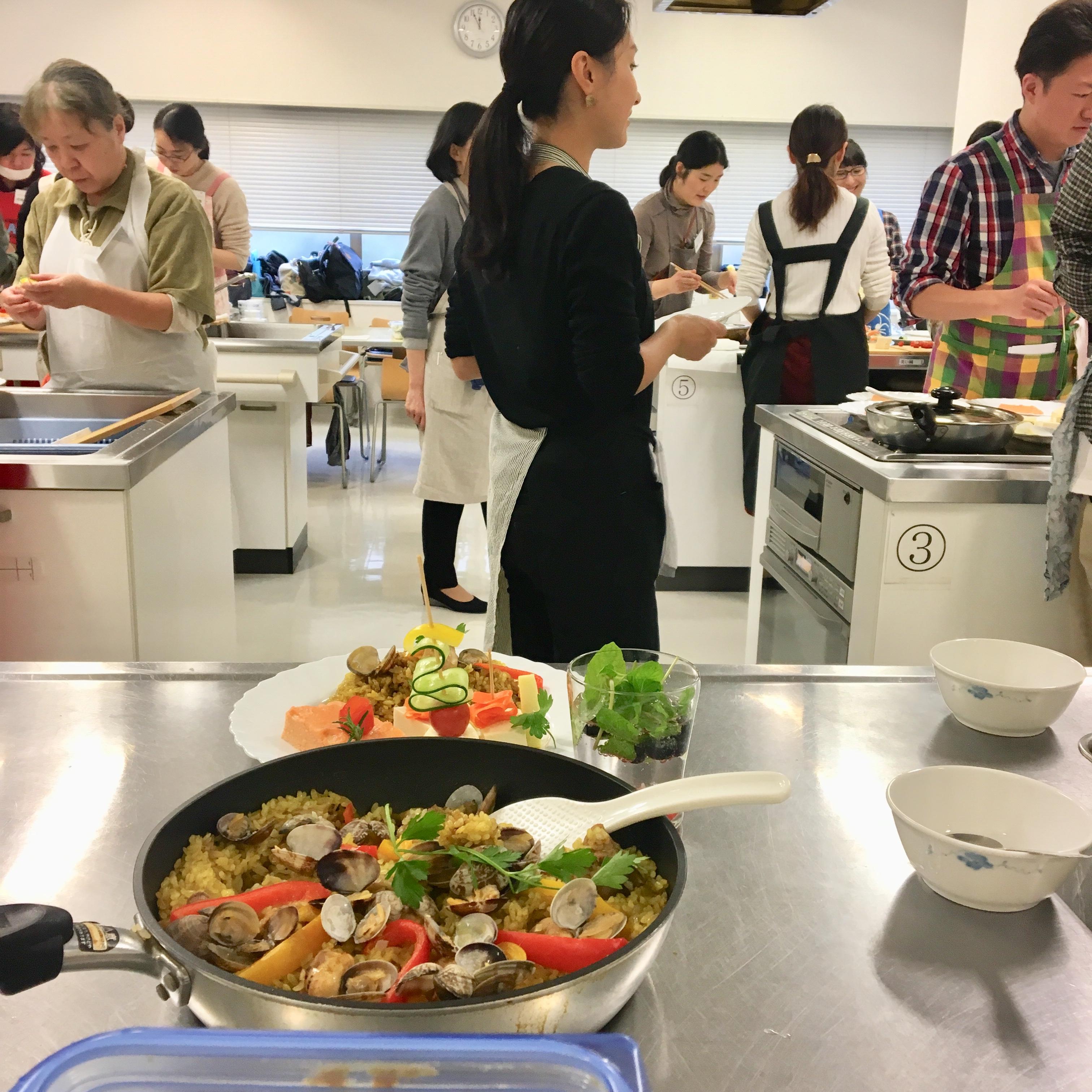 【料理教室講師】健康経営;社員の未来の健康を手に入れる料理教室「簡単おもてなしクリスマス料理編」