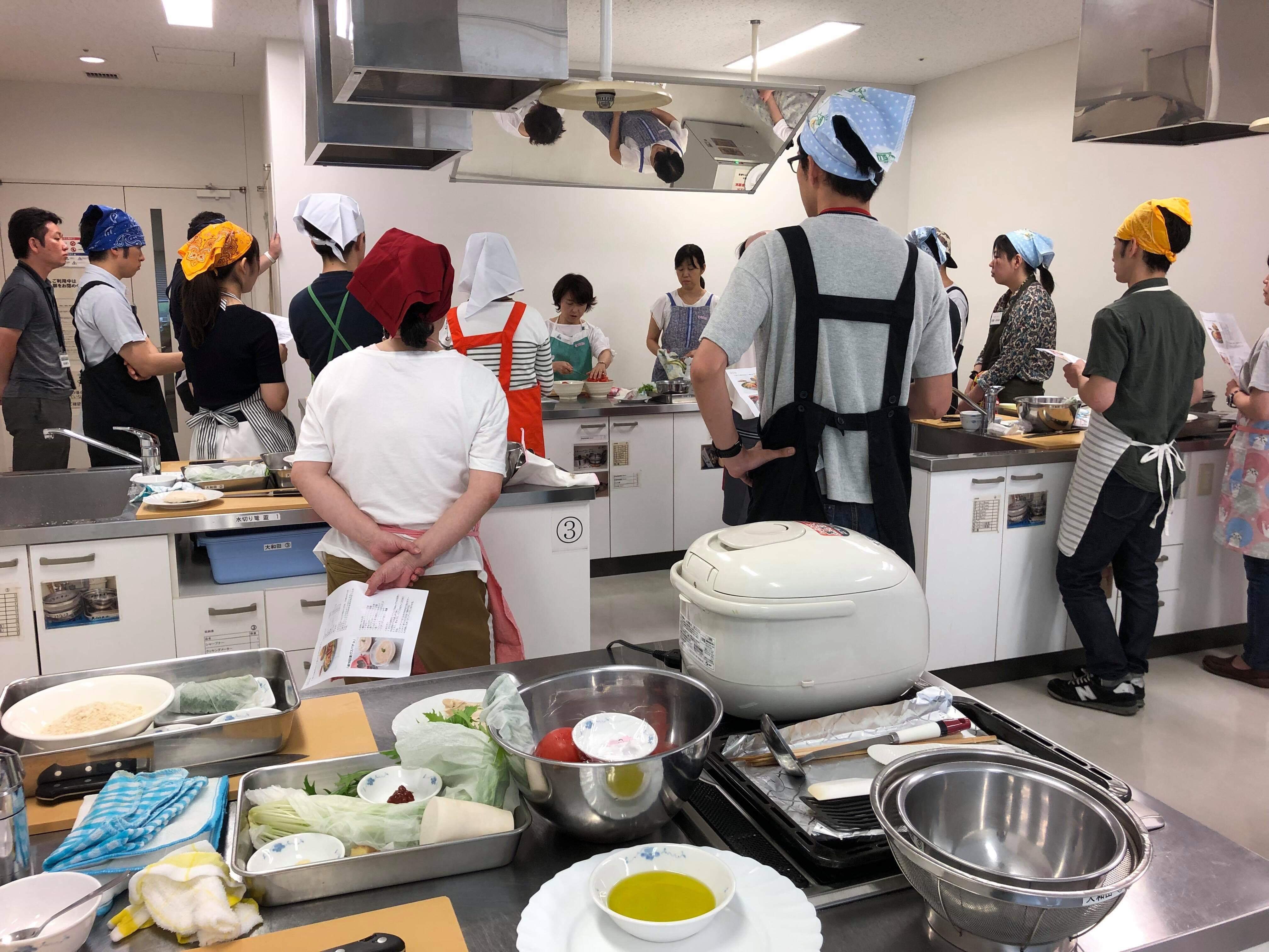 【料理教室講師;健康経営サポート事業】社員の健康をサポートする料理教室