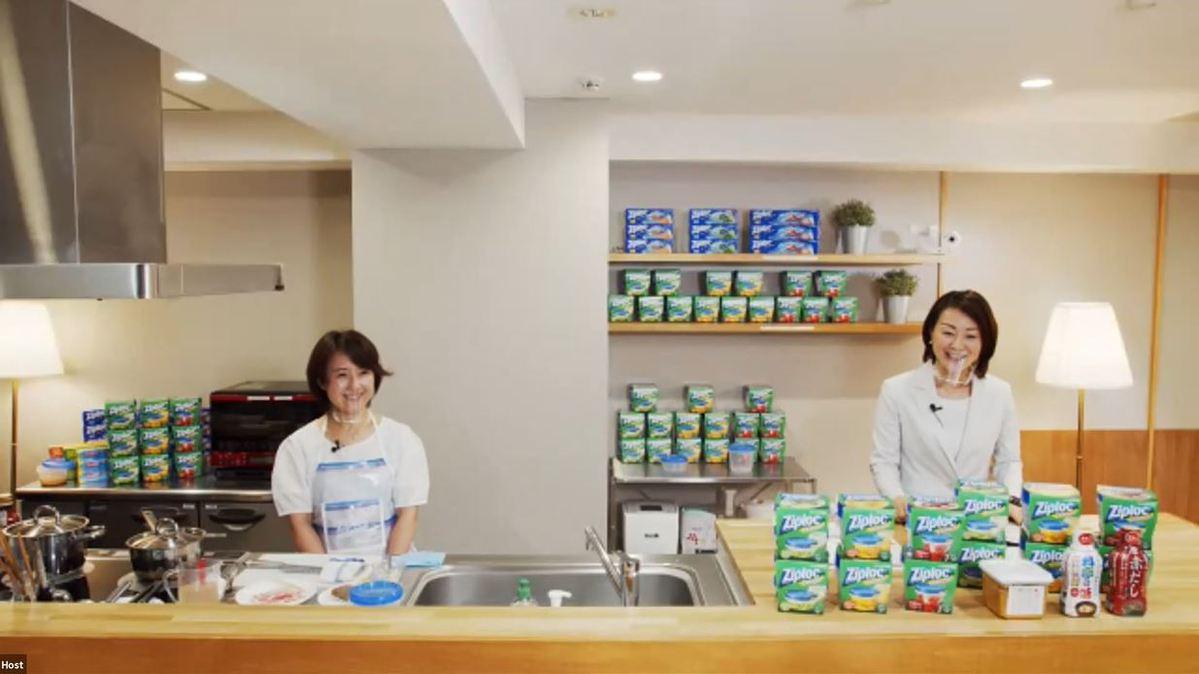 【料理セミナー講師】旭化成×マルコメ「ジップロックを使った料理教室」
